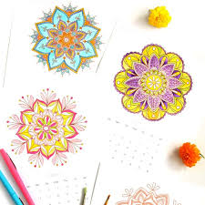 mandala coloring pages apieceofrainbowblog c