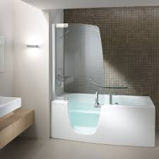 Awesome Combo Tub Shower Unit Bathtub And In One Within Walk Ideas 10