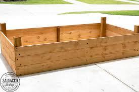diy raised garden bed tutorial 6