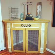 How to make a dog crate Dog Kennel Dog Crate Corner Mantel Home Stories To 21 Stylish Dog Crates