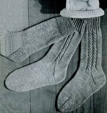 Knitted Sock Patterns Delectable Four Needle Socks Knitting Patterns