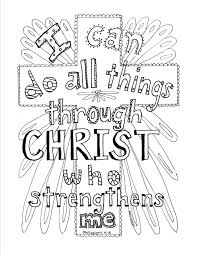 Color milestones why is learning colors challenging? Philippians 4 13 Scripture Coloring Page Bible Verse Coloring Page Bible Coloring Pages Bible Verse Coloring