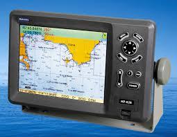 Navigation Chart Plotter 8 Inch Color Lcd Marine Gps Chart Plotter From China