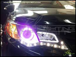 2014 Camry Led Lights Oracle 12 16 Toyota Camry Led Colorshift Halo Rings Headlights Bulbs