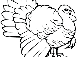 fitness coloring pages turkey preschool free printable template already colored colo