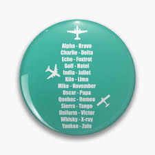 Magnet measures 95mm x 65mm, with an image size of 90mm x 60mm. Pilot Phonetic Alphabet Military Cadet Airplanes Magnet By Creativetwins Redbubble