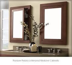bathroom medicine cabinets. Ronbow Rebecca Mirrored Medicine Cabinets 618125-H01 Bathroom
