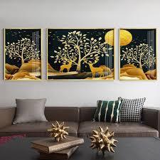 4 piece wall art sets digital canvas