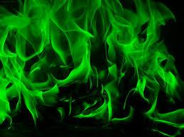 Green Flame Wallpaper on WallpaperSafari