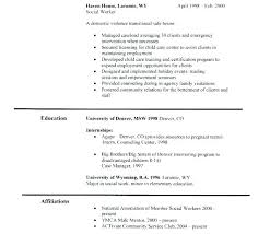 Resume For Social Work Social Services Resume Examples Keralapscgov
