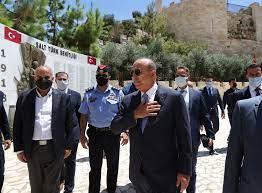 زيارة وزير الخارجية مولود تشاووش أوغلو إلى الأردن، 16-17 أغسطس/ آب 2021 /  وزارة الخارجية الجمهورية التركية