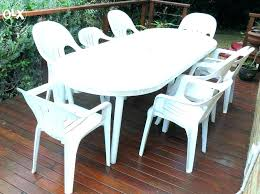 round resin patio table round plastic outdoor tables plastic outdoor table white plastic outdoor table and