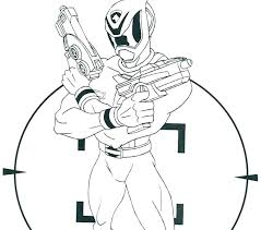 Power Ranger Coloring Picture Power Rangers Mystic Force Coloring