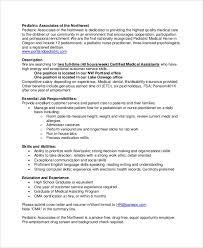 Medical Assistant Job Description Duties Magdalene Project Org