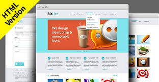 Free Website Templates Mesmerizing BisLite Free HTML Website Templates Freebiesbug