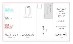 4 Panel Brochure Template