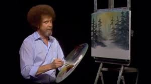 bob ross snowy morn season 19 episode 4