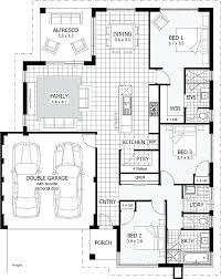 two bedroom house plans pdf model 3 bedroom house plans beautiful 3 bedroom house plans with double garage