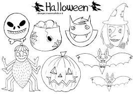Disegni Da Colorare Le Maschere Di Halloween Disegni Mammafelice