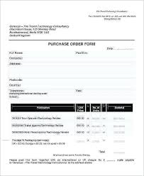 Uk Purchase Order Template Purchase Order Template Word Doc Fresh 7