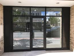 aluminum glass door installation nyc