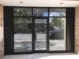 aluminum glass door installation nyc