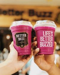 Catch us swirling up soft serve , ordering golden lattes ☕,…» The Pink Dragon Smoothie Is Looking Better Buzz Coffee Facebook