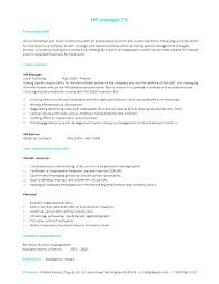 Curriculum Vitae Example Format Malawi Research