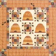 In Grandmas Attic: Honeybee Quilt Block & Honey Bees Quilt Pattern Adamdwight.com