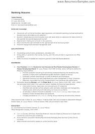 Sample Resume For A Bank Teller Sample Banking Resumes Sample Resume For Bank Job Sample Banking
