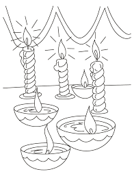 Small Picture Diwali Coloring Pages 16 Coloring Kids