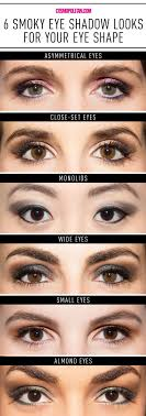 smoky eye looks for diffe eye shapes