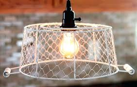chandeliers en wire chandelier plug in pendant light en wire basket how to plug in