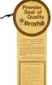 broyhill premier seal of quality