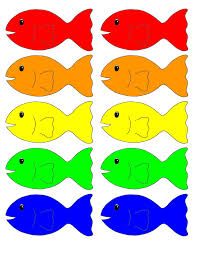 colored fish printables. Interesting Fish Go Fish Printable Game ATLp33 Remembers And Follows Directions The Child  Will Remember Who The Color Of Fish They Need Also Know How To  And Colored Printables Pinterest