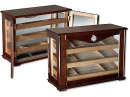 humidor table cabinet antique cigar side round coffee