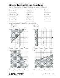 algebra 1 graphing linear equations worksheet graphing linear inequalities worksheet quiz solving algebra 1 answer key