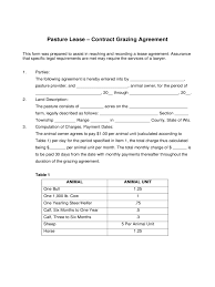 Sample Pasture Lease Agreement Template Pasture Lease Agreement 24 Free Templates in PDF Word Excel Download 1