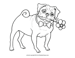 pugs coloring pages cute printable pug coloring page by the inky octopus visit for the pug pugs coloring pages