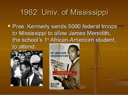 「1963 James Meredith」の画像検索結果