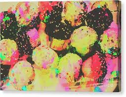 cupcake canvas print rainbow color cupcakes by jorgo photography wall art gallery on cupcake canvas print wall art with cupcake canvas prints fine art america