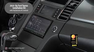 Scosche 2010 - Up Ford Taurus Installation Kit with Touchscreen AC ...