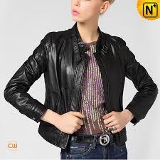 black leather biker jacket womens cw650019 cwmalls com