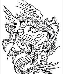 Dragon Coloring Pages New Year Dragon Coloring Pages Fantasy Free