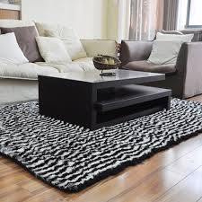 Zebra Living Room Aliexpresscom Buy Zebra Rug Black And White Stripe Zebra Living