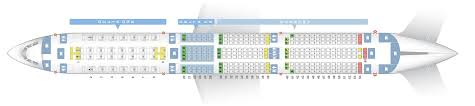 Airbus A350 900 Seating Chart Seat Map Airbus A350 900 Delta Airlines Best Seats In The Plane