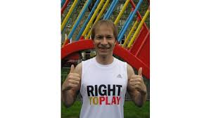 Ivan Harper is fundraising for Right To Play UK