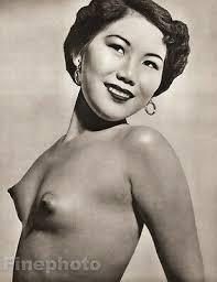 1950 S Vintage Ethnic Female Nude Asian Oriental Chinese Photo Art John Everard