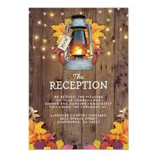 Fall Invitation Autumn Leaves Rustic Fall Invitation Suite Honor And Obey