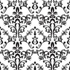 Damask Pattern Free Simple Free Black And White Damask Vector Pattern Backgrounds